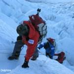 三浦雄一郎75歳エベレスト登頂(2008年)(9)アイスフォール (2)