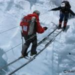 三浦雄一郎75歳エベレスト登頂(2008年)(10)アイスフォール (3)
